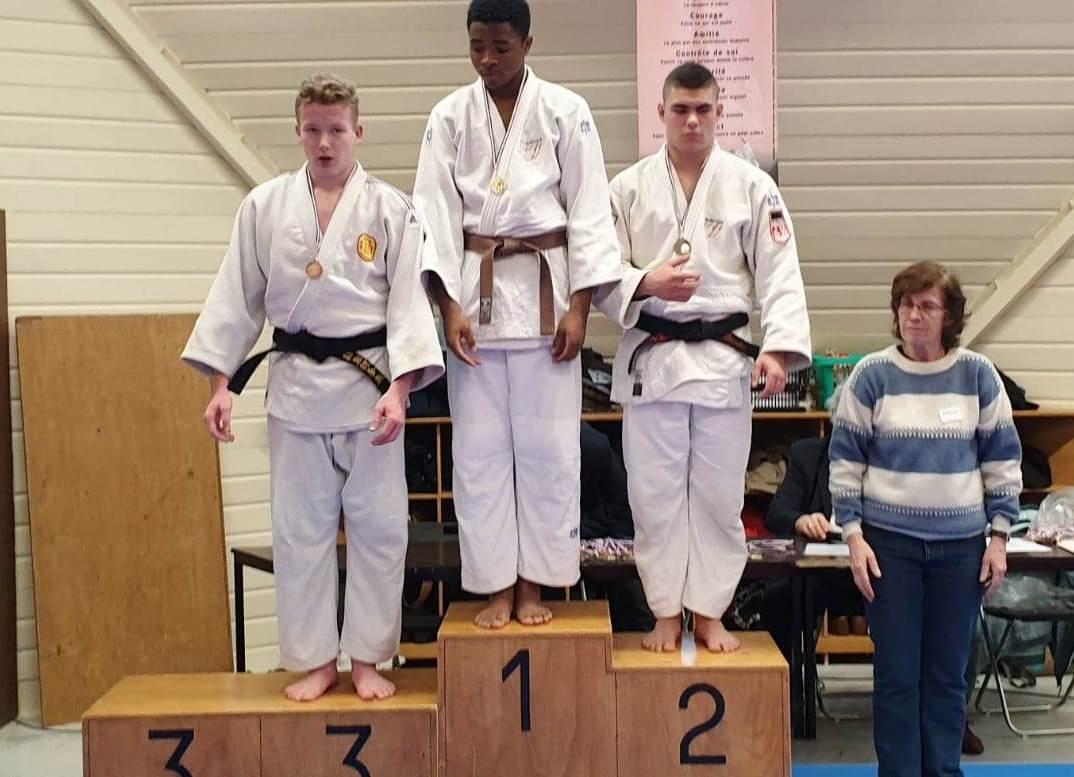 Julien podium 3eme place