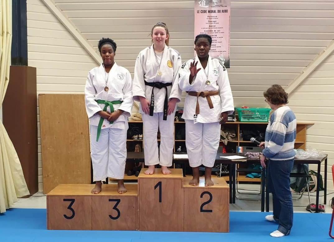 Elise podium 1ere place