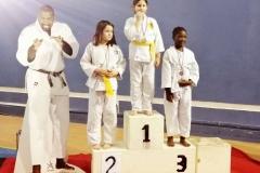 Podium liz médaille d'Or