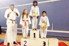 Podium médaille d'Or